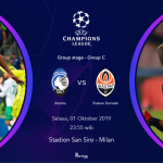 Atlanta vs Shaktar liga champion