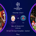 live streaming Galatasaray vs Psg