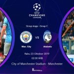 Liga Champions Man City vs Atalanta