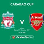 Liverpool vs Arsenal carabao cup