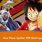 One Piece Spoiler Chapter 959