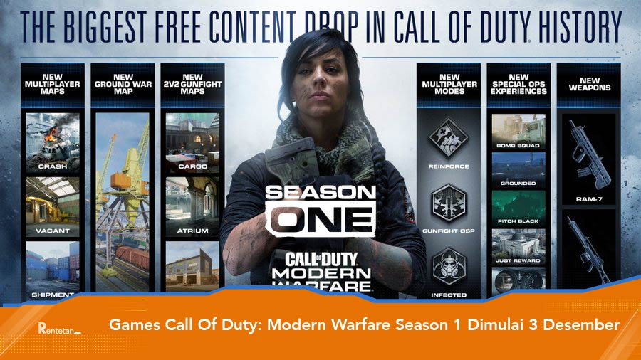 Games Call Of Duty: modern Warfare Season