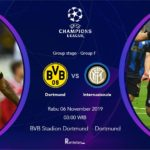 Streaming Liga Champions 2019 Dortmund vs Inter Milan