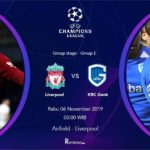 Liga Champion Hari Ini Liverpool vs Genk