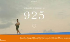 Download Lagu 925 Ardhito Pramono