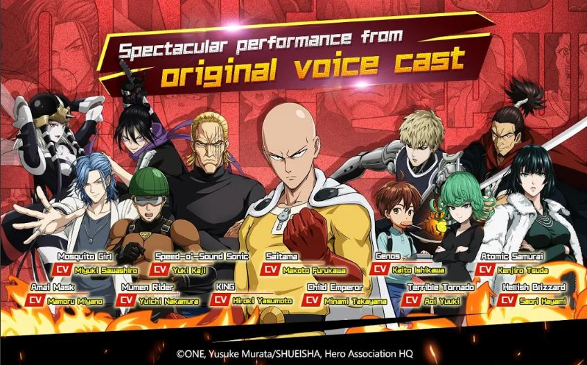Download One Punch Man Mod Apk