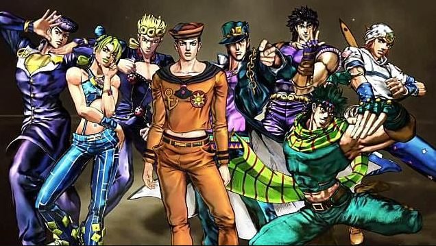 Urutan Nonton Anime Jojo's Bizzare Adventure