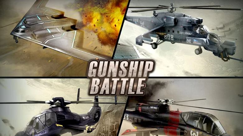 Gunship Battle Mod Apk Game Helicopter 3D Terbaik Android