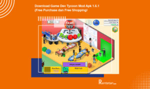 Download Game Dev Tycoon Mod Apk 1.6.1 (Free Purchase dan Free Shopping