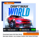 Download Game Drift Max World Mod Apk Version 1.82, Evolusi Terbaru Seri Game Drift Max!