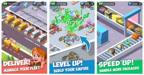 Download Idle Courier Tycoon Mod Apk