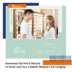 Download Ost Part 8 Record of Youth Just You J Rabbit, Beserta Lirik Lengkap
