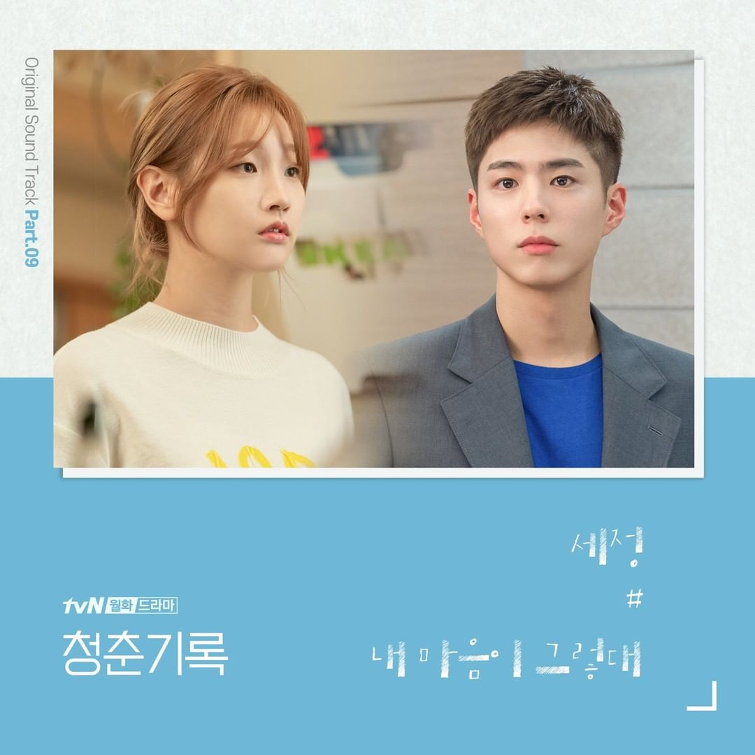 download ost part 9 Record of Youth Sejeomg What My heart Says