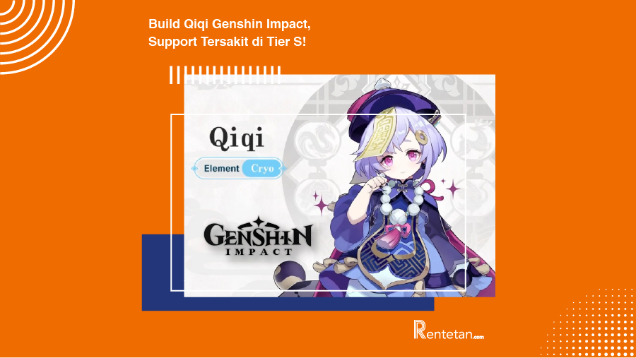 Build Qiqi Genshin Impact, Support Tersakit di Tier S!