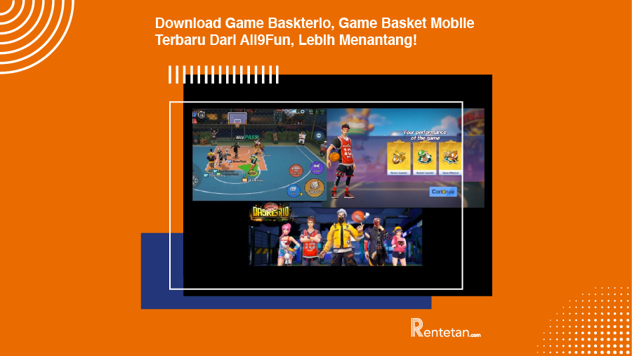 Download Game Baskterio, Game Basket Mobile Terbaru Dari All9Fun, Lebih Menantang!