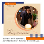 Download Ost Do Do Sol Sol La La Sol Sondia Always Remember Beserta Lirik Lagu