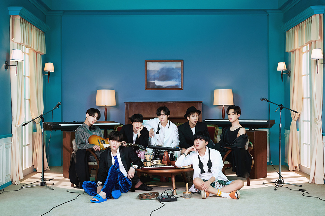 lirik lagu life goes on BTS