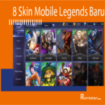 8 Skin Mobile Legends Baru