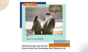 Download Lagu Love So Fine Cha Eun Woo Ost True Beauty Part 8 Beserta Lirik