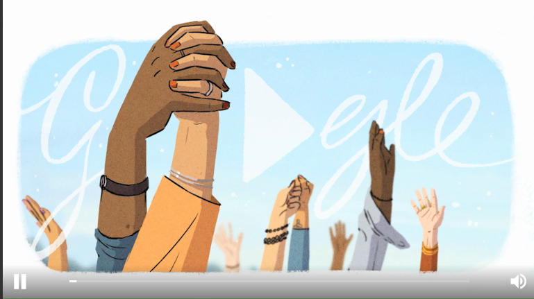 google doodle intrnational women's day