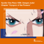 """Spoiler One Piece 1006 Dengan Judul Chapter """"Hyogoro of the Flowers"""""""